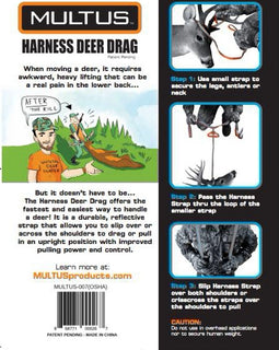 How to Use a Harness Deer Drag