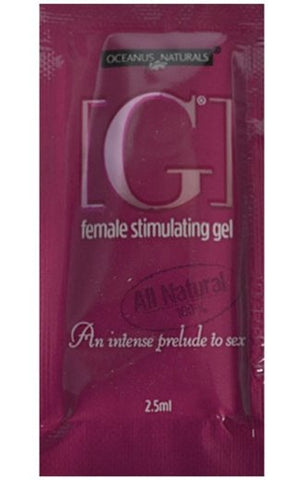 [G] Female Stimulating Gel Travel Size