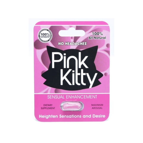 Pink Kitty 1pk Pill