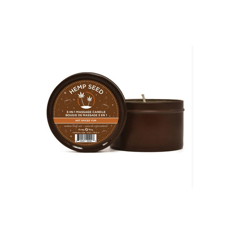 3-IN-1 CANDLE 6 OZ HOT SPICED YUM