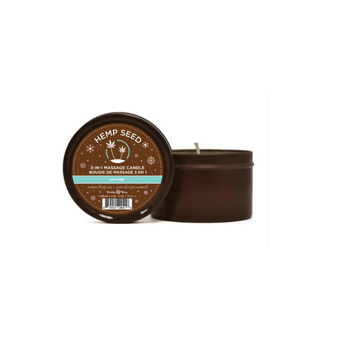 3-IN-1 CANDLE 6 OZ SHIVERS
