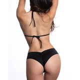 LYCRA SHORTY SHORTS BLACK OS