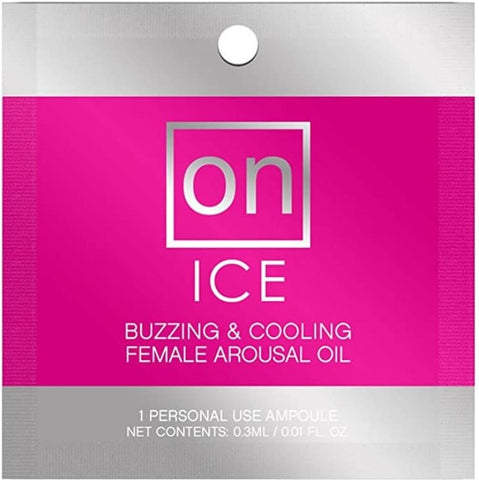 On Ice Ampoule Packet