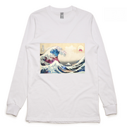 Great Wave In Space Long Sleeve