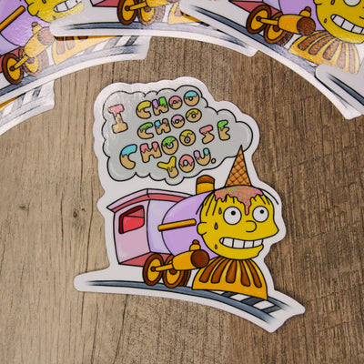Choose Me Ralph Die Cut Sticker