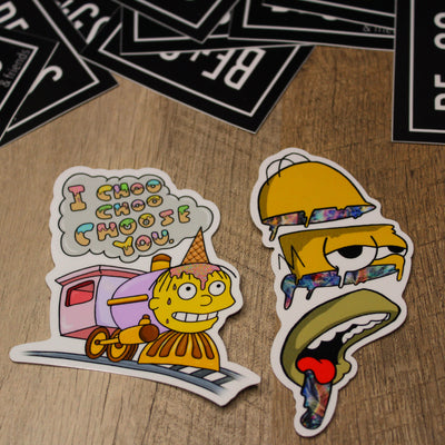 Simpsons Combo Sticker Pack
