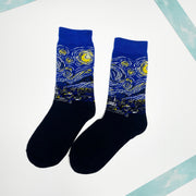 Starry Night Sox Single Pair of Socks
