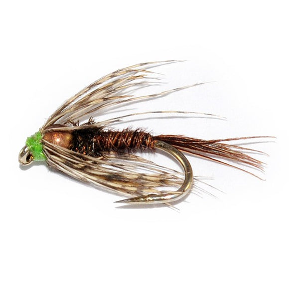 Copper Bead Pheasant Tail