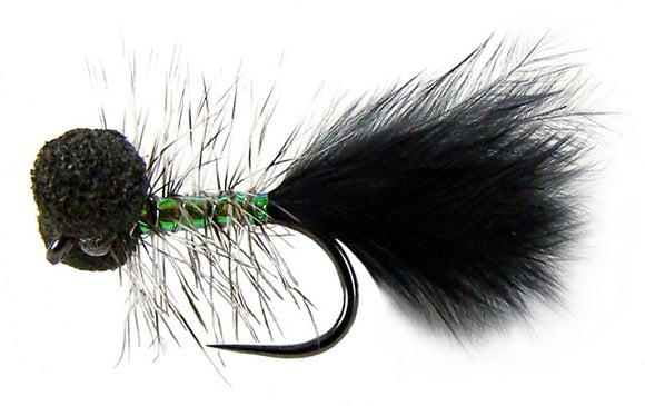 Fasna Hook Barbless Huey Booby (size 12)