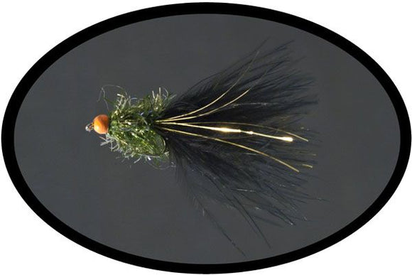 Dark Olive Ally Mcoist Lure  Code O135 (size 8)