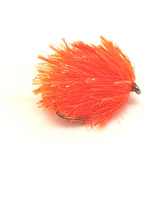 Hot Orange UV Tail Blob - Code A104 (S10)