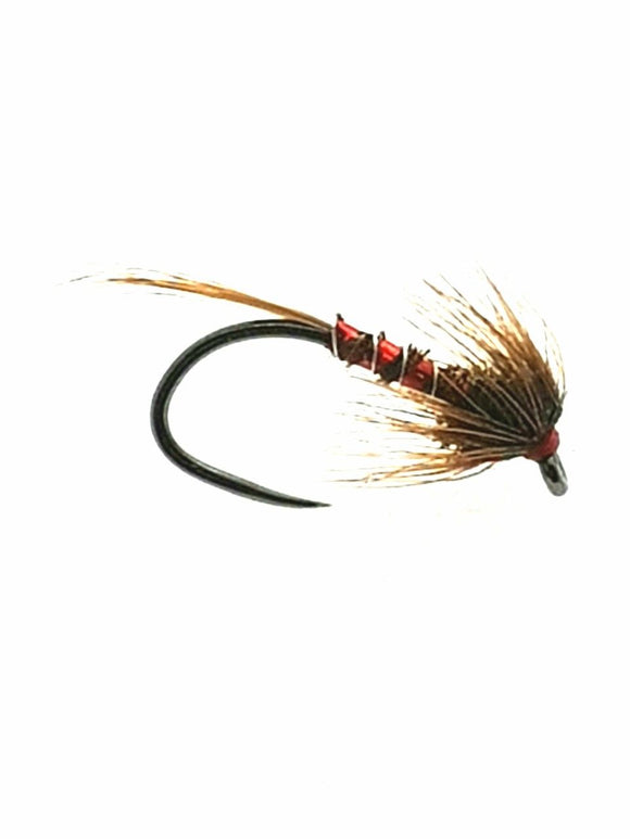 Barbless Fasna Hook Red Nemo Cruncher CODE HC5 (s10,12,14)