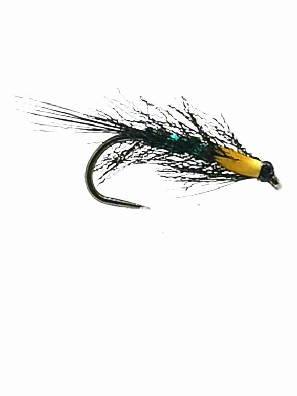 Barbless Green Pseudo Diawl Bach (s10,12)