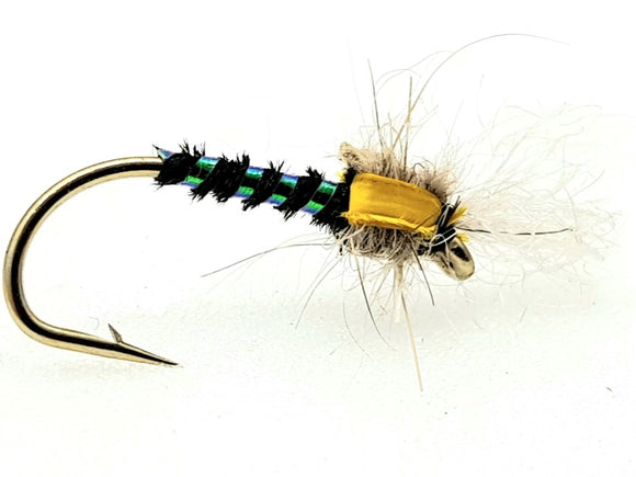 Black Buzzer Emerger Code C105 (s10,12)