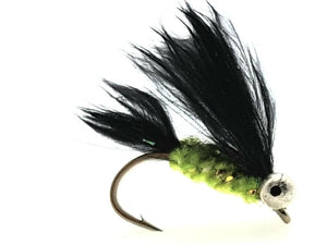 Black & Green Cats Whisker Code O107 (s10)
