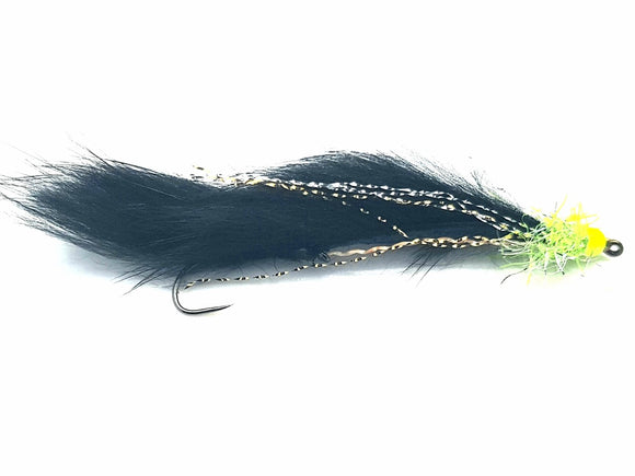 Fasna Barbless Black Cat Snake CODE BS4
