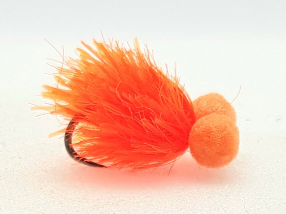 Barbless hot orange mini bite booby CODE BB07 (s12)