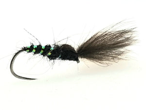 Barbless Black Shuttlecock Code BD1 (S12,14)