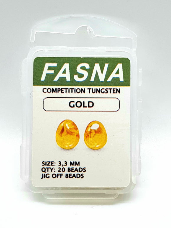 Fasna Competition Tungsten Gold 3.3mm