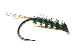 Barbless Holographic Green Diawal Bach CODE HDB1 (s10,12, 14'S)