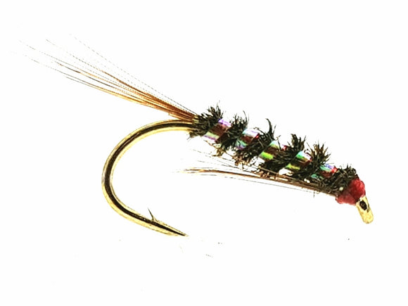 05 Details about  / Fluro Diawl Bach Fishing Flies #12 by Aquastrong