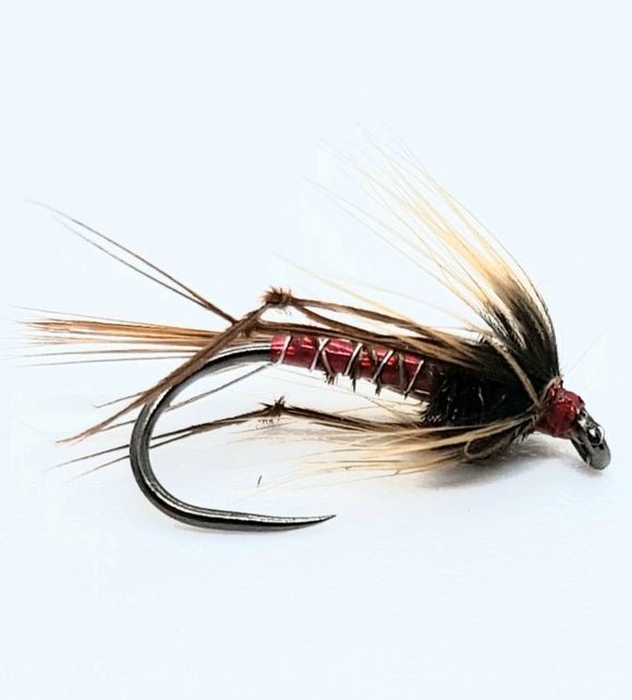 Red Hopper Nemo Cruncher  Barbless Code E102A  (s10)