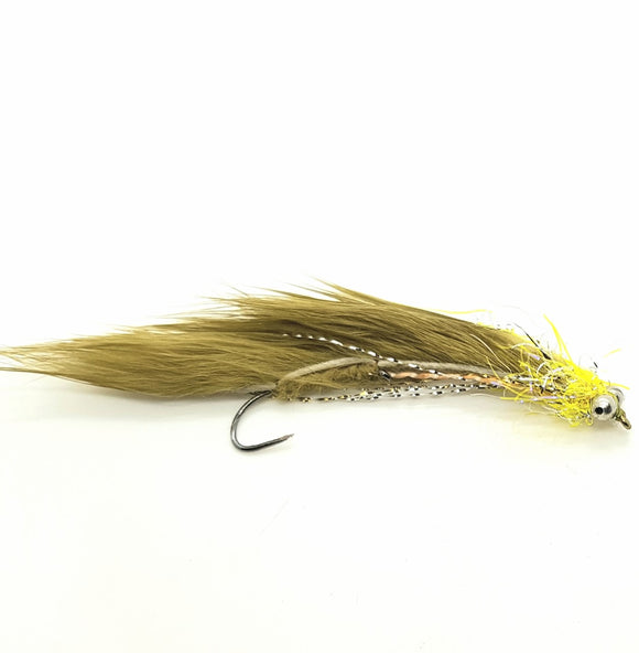 Barbless Olive Snake CODE BS11