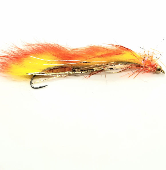 Barbless Orange Snake CODE BS8
