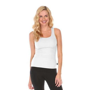 Bra:30 Hipster Womens Tank Top in Optic White