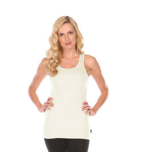 Bra:30 Tummy Tucker Womens Tank Top in Eggnog