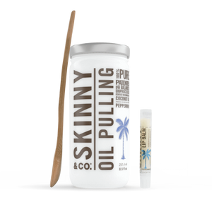 Skinny & Co. Peppermint Oil Pulling Coconut Oil