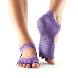 ToeSox Half Toe Bellarina Grip Socks