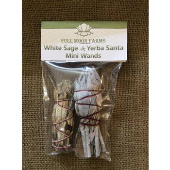 White Sage & Yerba Santa Mini Wands