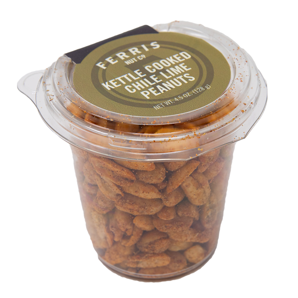 Kettle Cooked Chile Lime Peanuts 4.5 oz