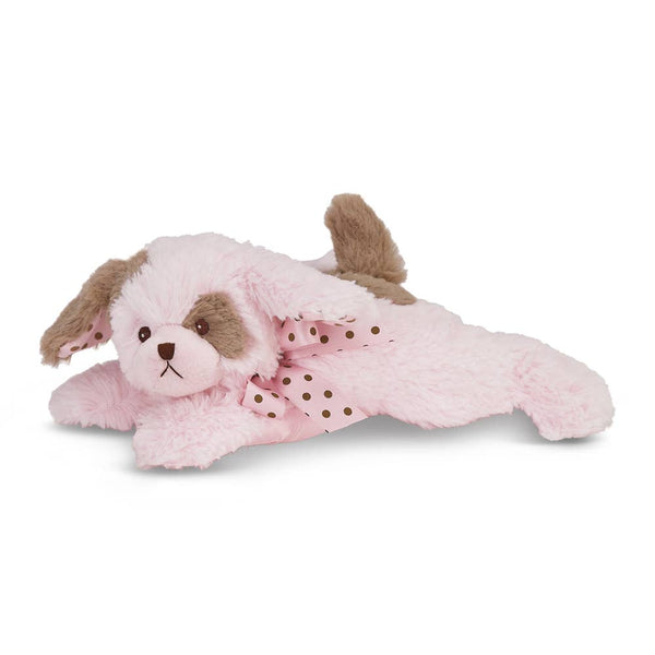 Baby Wiggles Pink Puppy Rattle
