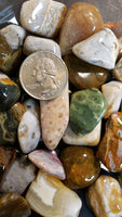 Ocean Jasper utilizes Water energy, the energy of stillness, quiet strength, and purification. It embodies potentialities unrealized. It is yielding, formless, yet powerful. The Water element brings power of regeneration and rebirth.