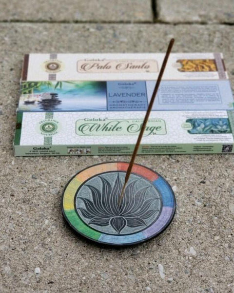 Lotus Incense Set