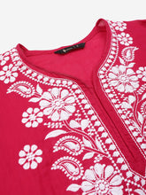 Load image into Gallery viewer, Lucknowi Chikan Embroidered Kurta