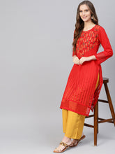 Load image into Gallery viewer, Saadgi Chikankari Handwork Kurta