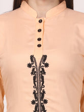 Load image into Gallery viewer, Saadgi Embroidered Black  Winter Kurta-SZ82WEBOR