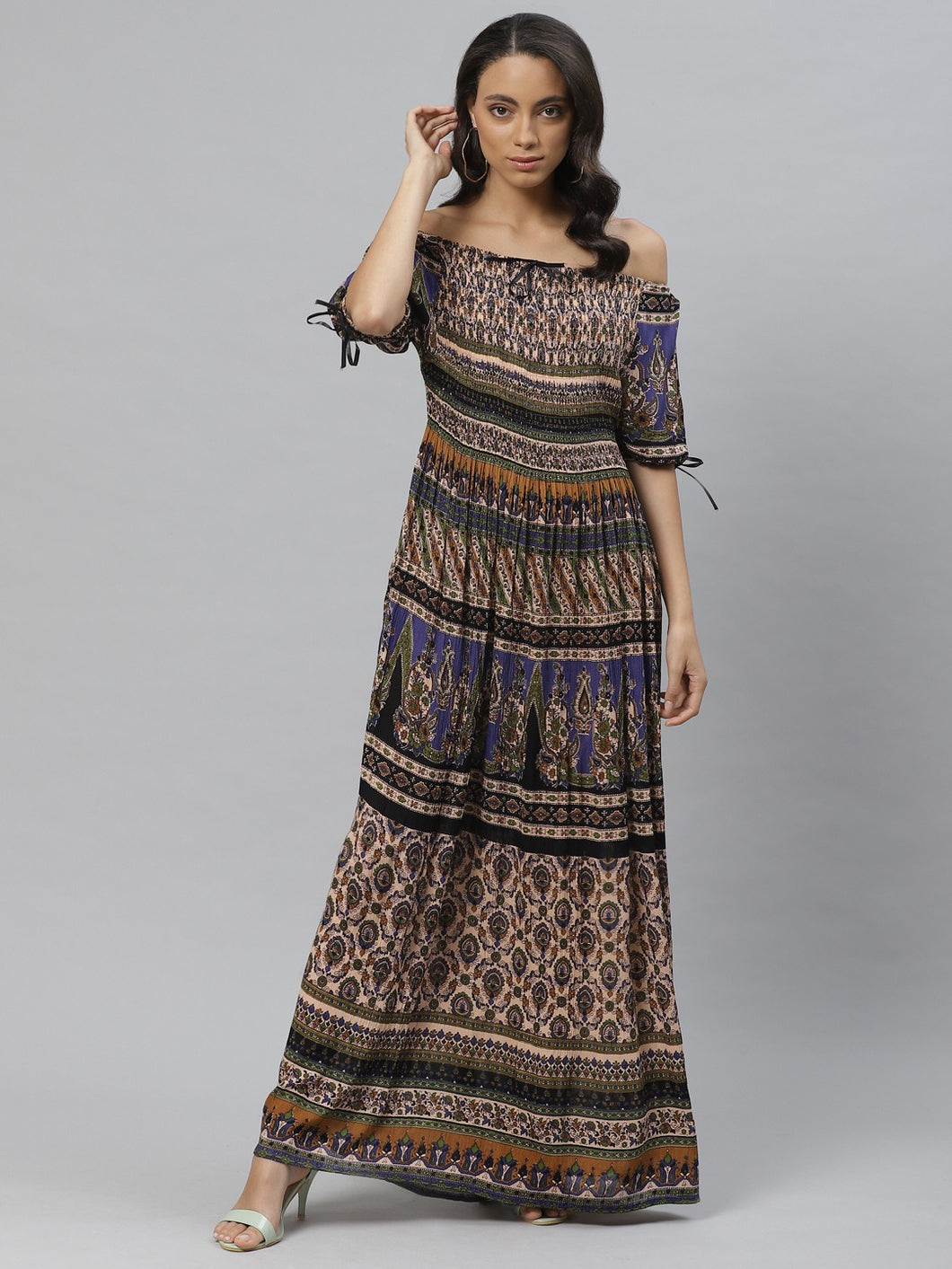 Vemante Embroidered Dress
