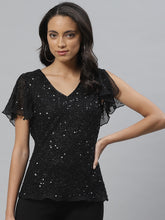 Load image into Gallery viewer, Vemante Sequin Top