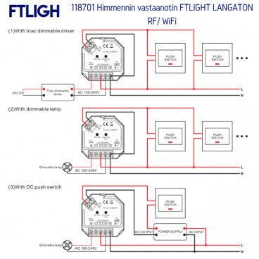FTLIGHT PERFECT, Triac ohjain (SN:4018827)