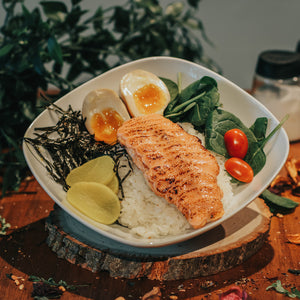 Salmon Mentai Rice Bowl