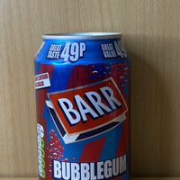 Barr Bubblegum - Woodward's Confection Limited