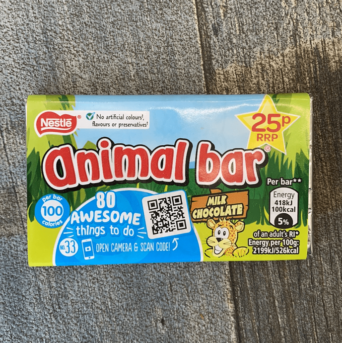 Animal bar - Woodward's Confection Limited