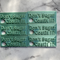 Don't Sugar Coat It Keyring