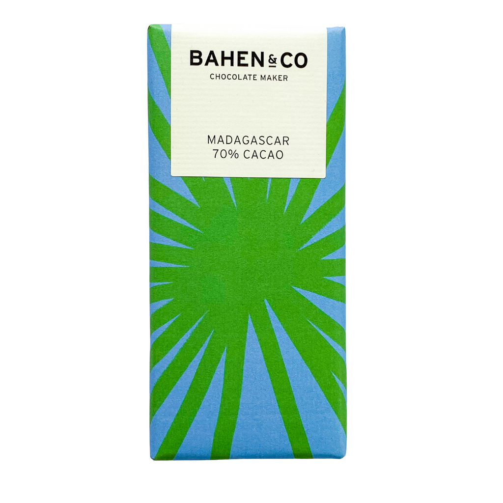 All the way from Margaret River in Western Australia, Bahen & Co makes stone ground chocolate from bean to bar. This chocolate is like no other.
