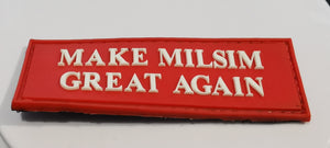 Make Milsim Great Again Patch