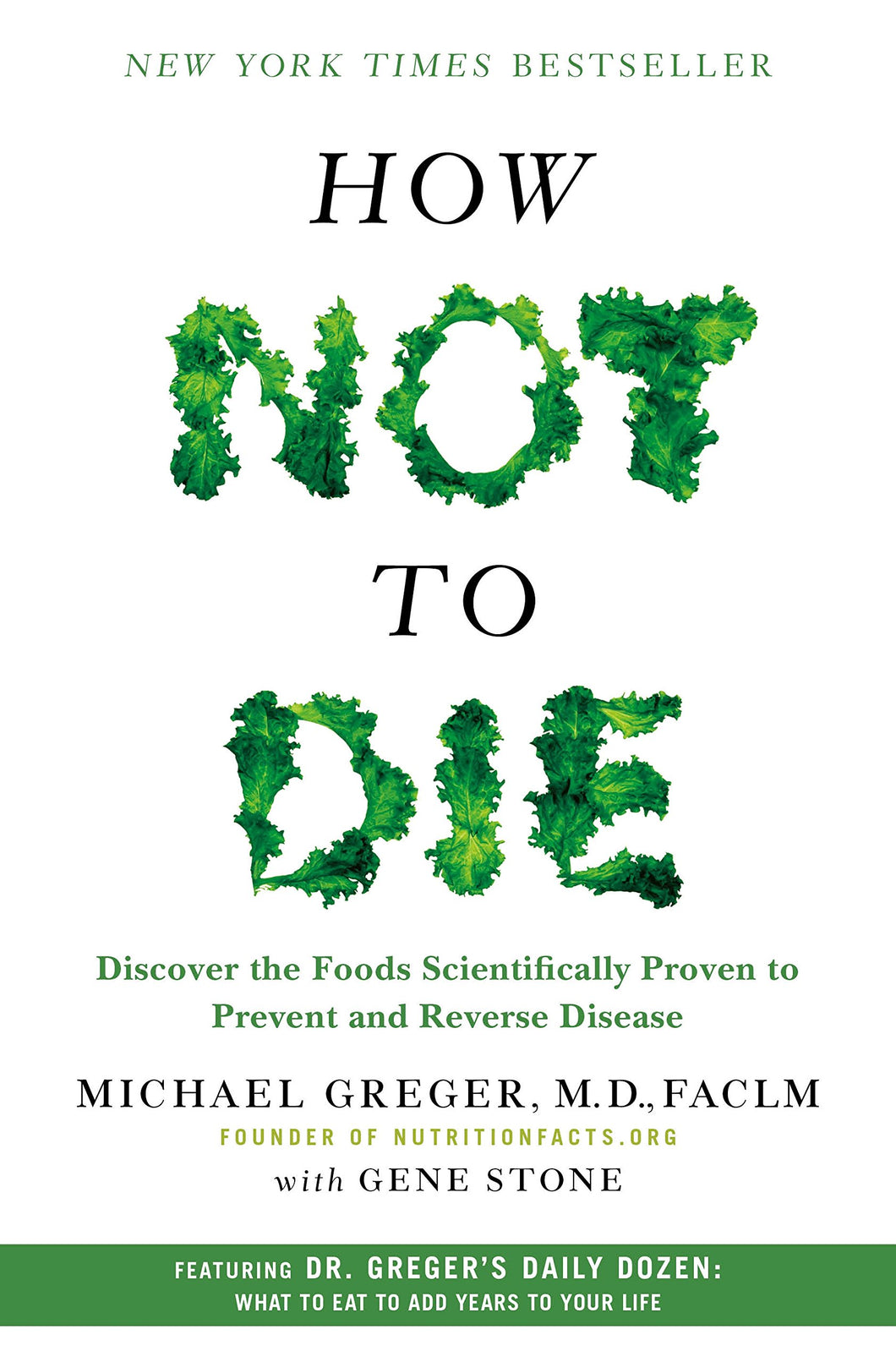 How not to die (ENG) / Michael Greger, M.D.